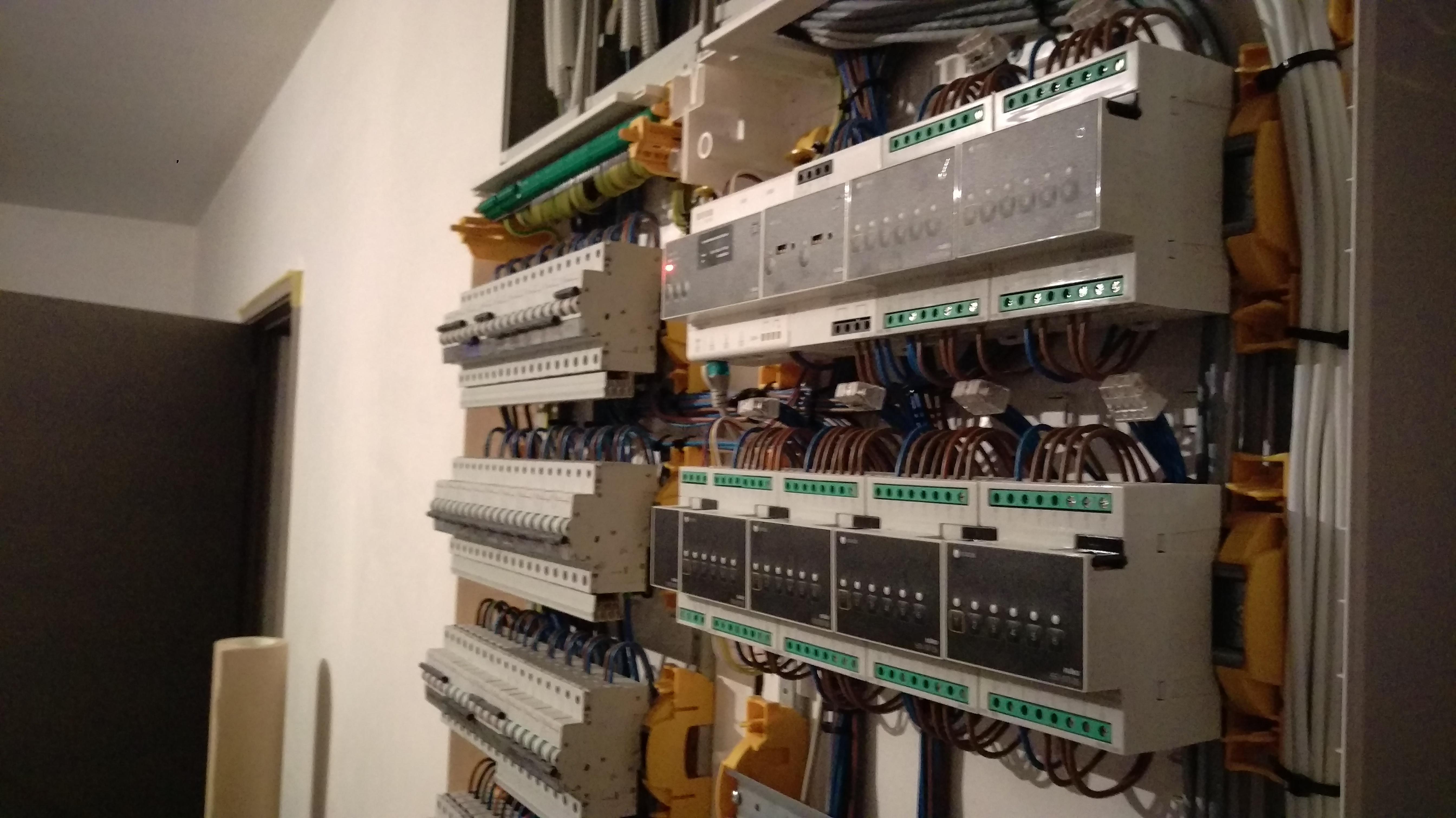 domotica niko home control modules